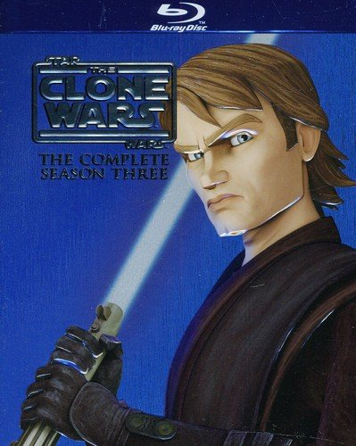 Star Wars: The Clone Wars: The Complete Season Three [Blu-ray] DVD