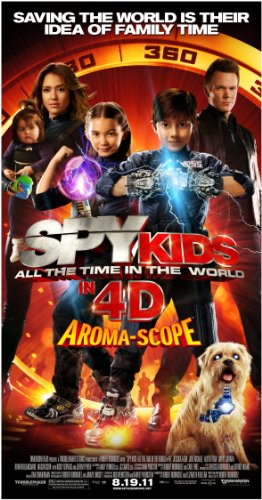 Spy Kids 4: All The Time In The World Four-Disc Combo: Blu-ray 3D / Blu-ray / DVD / Digital Copy