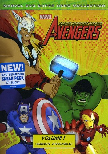 The Avengers: Earths Mightiest Heroes Volume 1 cover