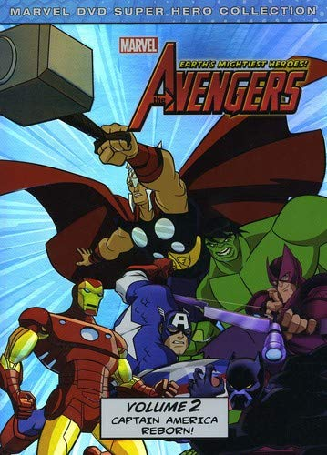 The Avengers: Earths Mightiest Heroes Volume 2 cover