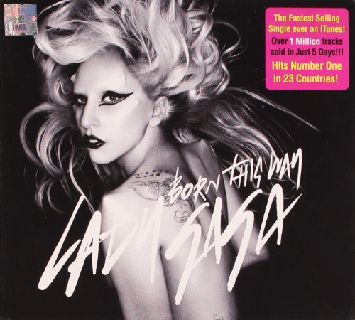 Album Cover: BORN THIS WAY - proj. May 2011
