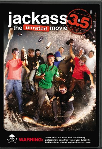 Jackass 3.5: The Unrated Movie DVD