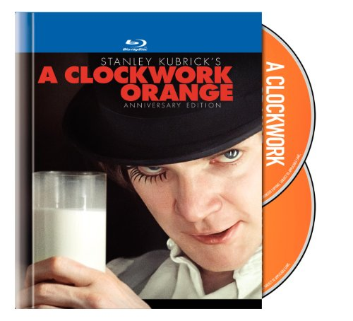 A Clockwork Orange Two-Disc Anniversary Edition Blu-ray Book Packaging