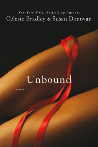 Unbound - a close up of I THINK two legs with a red ribbon trailing across them.