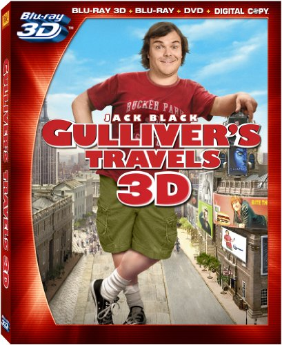 Gulliver's Travels 3D [Blu-ray] DVD