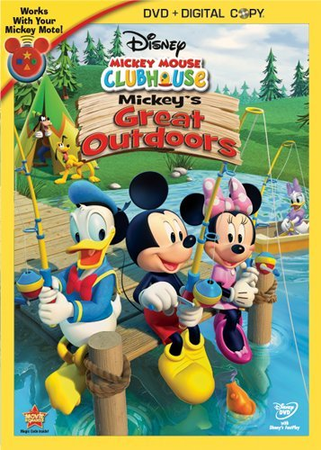 Mickey Mouse Clubhouse: Mickey's Great Outdoors + Digital Copy