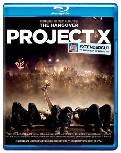 Project X [Blu-ray] DVD