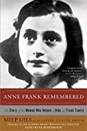 Book Cover: Anne Frank Remembered by Miep Gies