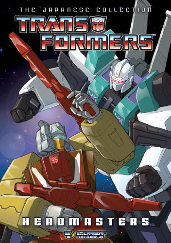 Transformers: The Japanese Collection - Headmasters cover