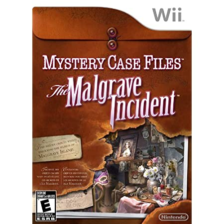Mystery Case Files: The Malgrave Incident(nintendo Wii)