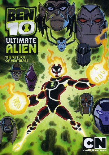 Ben 10 Ultimate Alien: The Return of Heatblast DVD