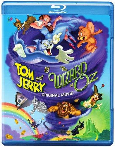 Tom and Jerry & The Wizard of Oz Blu-ray/DVD Combo + Digital Copy