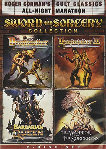Roger Corman's Cult Classics Sword And Sorcery Collection Deathstalker, Deathstalker II, The Warrior And The Sorceress & Barbarian Queen