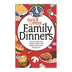 Quick & Easy Family Dinners Cookbook