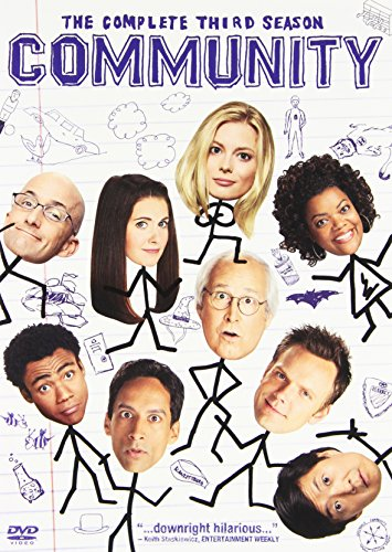 Community: The Complete Third Season DVD