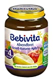 Bebivita Grie-Banane-Apfel, 6er Pack (6 x 190 g)