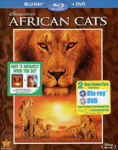 Disneynature: African Cats Two-Disc Blu-ray/DVD Combo in Blu-ray Packaging