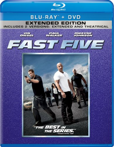 Fast Five Two-Disc Blu-ray/DVD Combo + Digital Copy in Blu-ray Packaging