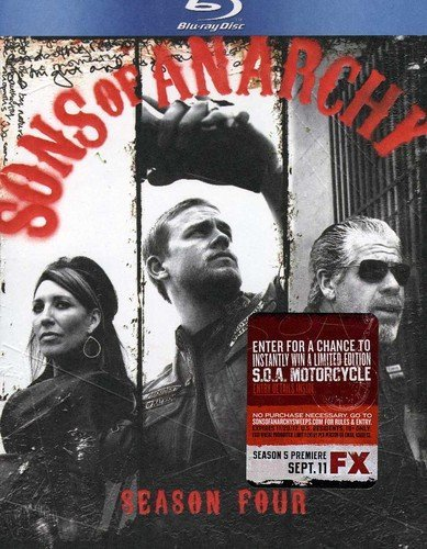 Sons of Anarchy: Season Four [Blu-ray] DVD