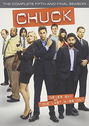 Chuck: The Complete Fifth Season DVD