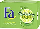 Fa Festseife Refreshing Lemon, 3er Pack (3 x 100 g)