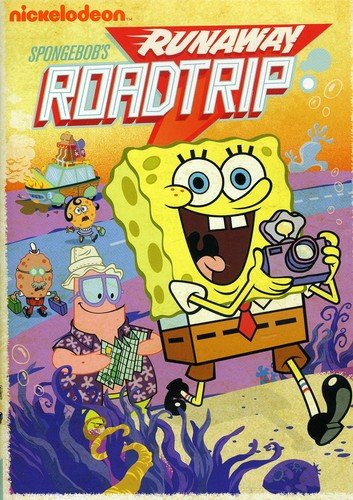 SpongeBob SquarePants: SpongeBob's Runaway Roadtrip DVD