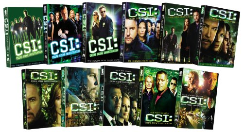 CSI: Crime Scene Investigation - Seasons 1-11 DVD