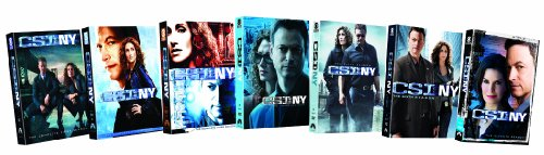 CSI: NY - Seasons 1-7 DVD