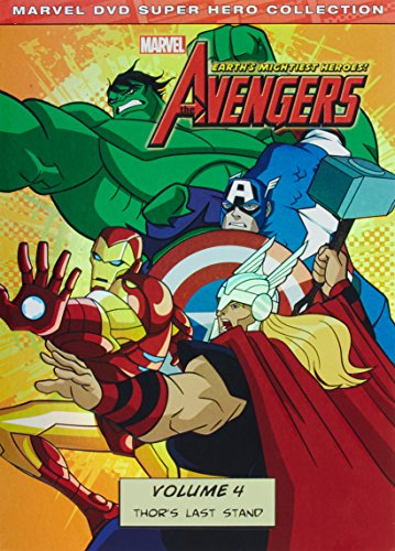 The Avengers: Earths Mightiest Heroes! Volume Four cover