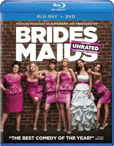 Bridesmaids Two-Disc Blu-ray/DVD Combo + Digital Copy in Blu-ray Packaging