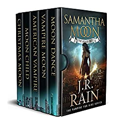 Samantha Moon: First Four Novels