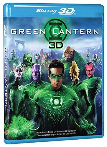 Green Lantern Three-Disc Combo: Blu-ray 3D / Blu-ray  DVD / Digital Copy