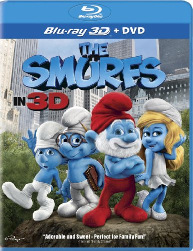 The Smurfs Two-Disc Combo: Blu-ray 3D / Blu-ray / DVD