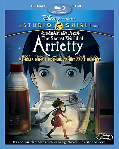 The Secret World of Arrietty cover