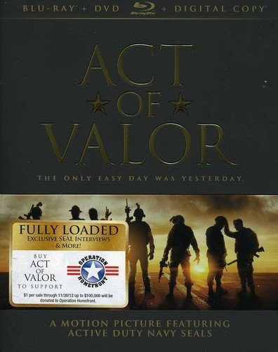 Act of Valor [Blu-ray] DVD