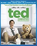 Ted (Two-Disc Combo Pack: Blu-ray + DVD + Digital Copy + UltraViolet)