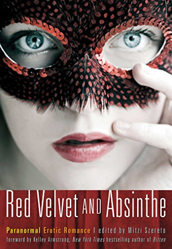 Book Red Velvet and Absinthe - paranormal erotic fiction