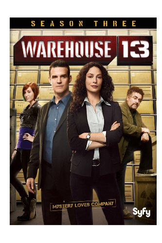 Warehouse 13: Season Three DVD