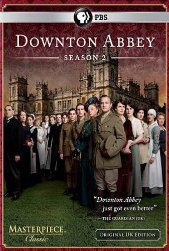 Masterpiece Classic: Downton Abbey Season 2 DVD  DVD