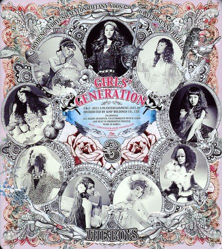 少女時代(GIRL'S GENERATION) / THE BOYS, 3rd Album(韓国盤)