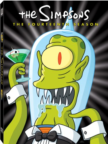 The Simpsons: The Fourteenth Season DVD