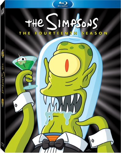 The Simpsons: The Fourteenth Season [Blu-ray] DVD