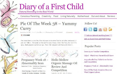 Diary of a First Child