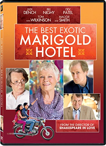 The Best Exotic Marigold Hotel DVD