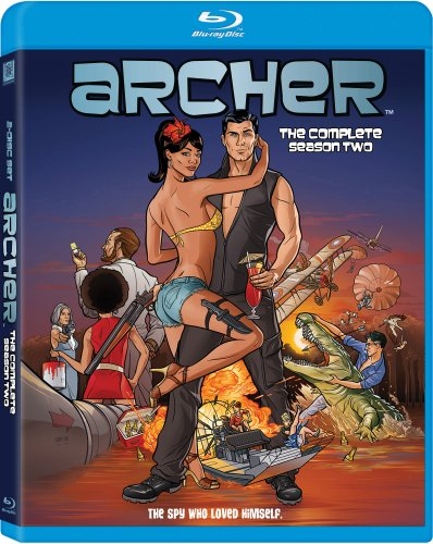Archer: Season 2 [Blu-ray] DVD