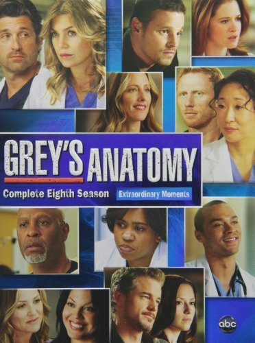 Grey's Anatomy: The Complete Eighth Season DVD