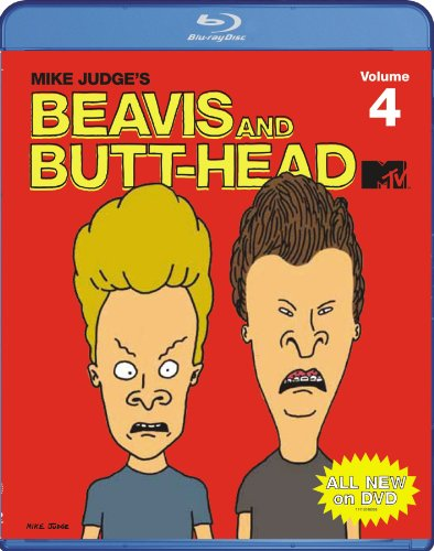 Beavis & Butthead: Volume 4 [Blu-ray] DVD