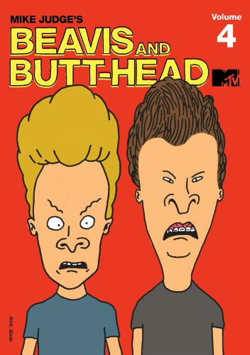 Beavis & Butthead: Volume 4 DVD