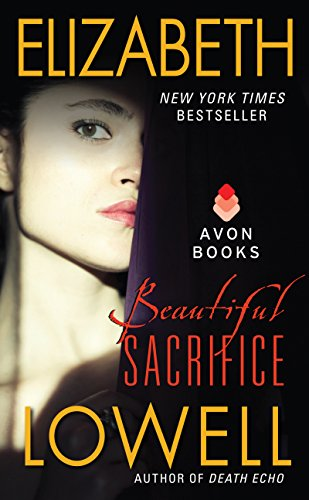 Book Beautiful Sacrifice - a close up of a woman's face against a black background