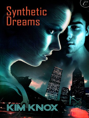 Synthetic Dreams - It looks like she's about to eat a skyscraper on the cover.